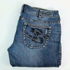 Silver Jeans Woman TUESDAY Distressed Boot Cut