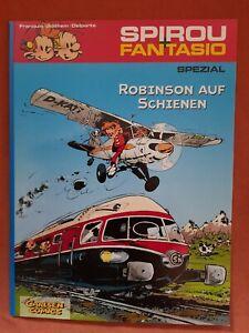 Spirou und Fantasio: Spezial - Robinson auf Schienen