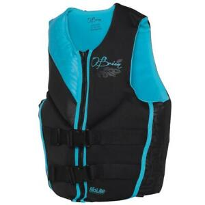 O'Brien Womens Aqua Focus Neoprene Vest Waterski Wakeboard Neo Safety Jacket