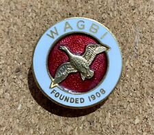 More details for wildfowlers' association of great britain and ireland (wagbi) enamel lapel badge