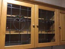 Oak Kitchen Cabinets 2 x 500mm