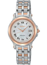Seiko Premier SXDE42P1 SXDE42 Ladies Watch WR100m two-tone NEW RRP $775.00