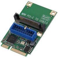 Mini Pci-E À Usb3.0 Carte Adaptateur Mini Pcie To19-Pin 20Pin Usb 3.0 Carte M1U