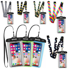 SpiriuS Waterproof Case Cover Bag Pouch For Mobile Phones + Lanyard Neck strap