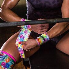 Unbroken Designs Wrist Wraps Paradise Pink Weight Lifting Wrap Crossfit WOD