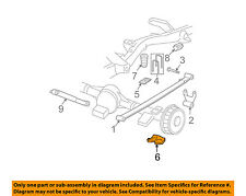 GM OEM Rear Suspension-U-bolt Plate 25761310