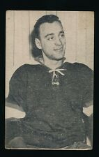 1952-53 St Lawrence Sales (QSHL) #81 JACQUES LOCAS (Sherbrooke) -Canadiens