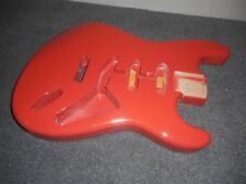 NEW - Fender Strat Body, Tremolo Routing - FIESTA RED, #SBF-FR