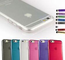 Étuis, housses et coques transparents simples pour téléphone mobile et assistant personnel (PDA) Apple