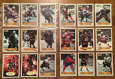 1996 NHL Bashan Shabtai Sticker Series Hockey Cards, Lot Of 18