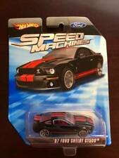 Hot Wheels Speed Machines 07 Ford Shelby GT500 Black/Red - NEW SEALED