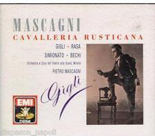 Mascagni: Cavalleria Rusticana / Gigli, Simionato, Bechi, Mascagni - CD Emi