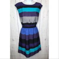 LOFT Ann Taylor Women's Size XS Striped Dress Career Work Wear
