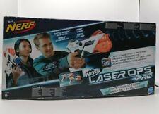 Hasbro Nerf Gun LASER OPS Pro 2er Set Pistolen und Smartphone-Bänder Lazer Tag