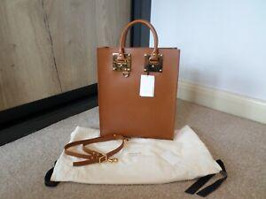 Sophie Hulme Large Tan Leather Albion Bag BNWT