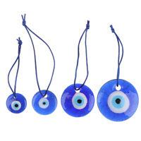 Fashion Lucky Turkish Greek Evil Blue Eye Charm Pendant Home AmuletYAN
