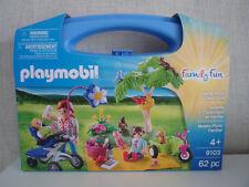 PLAYMOBIL Family Fun 9103 Family Picnic Carry Case - NIP
