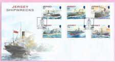 JERSEY Post 2011  FDC - SHIPWRECKS - Special Handstamp