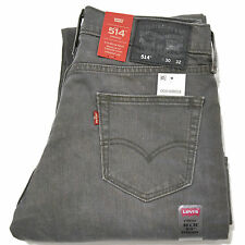 Levis 514 Jeans Straight Leg Levi's Slim Denim Stretch Motion Mens 30 33 34 35