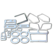 ABS Interior Accessories Whole Kit Cover Trims 19pcs For Ford Explorer 2011-2014