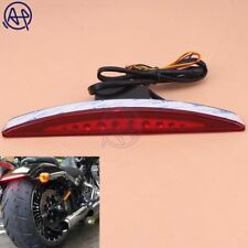 For Harley Breakout FXSB CVO 13-17 Integrated LED Brake Stop Tail Light Red LENS