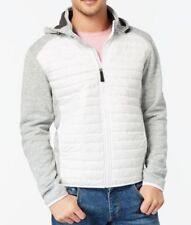 Point Zero NEW Gray Mens Size XL Colorblock Hooded Full-Zip Jacket