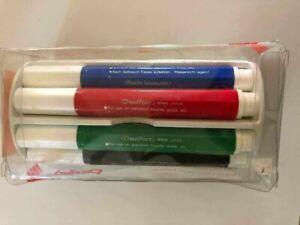 PENTEL WHITE BOARD MARKER 4 Assorted Color Chisel Tip Dry Erase Markers w/Eraser