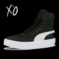 UNISEX PUMA XO PARALLEL X WEEKND LEATHER BOOTS HI TOP SNEAKERS 365039-05 7-12