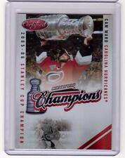 CAM WARD 10/11 Panini Certified Champions RED #219/250 #15 SP Hockey Card
