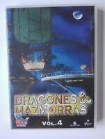 DRAGONES Y MAZMORRAS - DVD - VOL 4 - EPS 11 AL 13 - SERIE DE CULTO - SPANISH ED