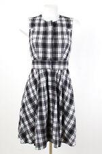 CLUB MONACO Kleid WIE NEU! Gr. 2=DE S / 36 Baumwolle Sommerkleid Dress Robe