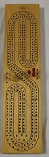 Vintage Milton Bradley E. S. Lowe Wooden Cribbage Board #1505 1974