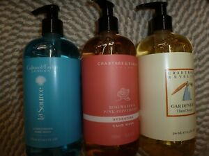CRABTREE & EVELYN~~U PICK SCENT~~ HAND SOAP OR WASH 16.9 OZ EACH PUMP