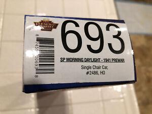 Broadway Limited 693 Morning Daylight 1941 Prewar  Chair Car 2486 SP Lines