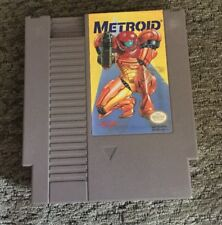 Metroid (Nintendo NES) Game Yellow Label Version Tested