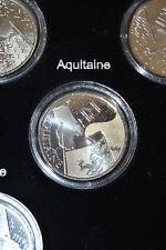 Pièce 10 euros des régions argent 2010 Aquitaine sous capsule
