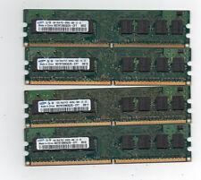 4GB (4X 1GB) DDR2 800 PC2-6400 800Mhz  Desktop Computer Memory PC Ram DIMM