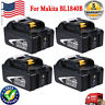 4x Batteries For Makita BL1840B BL1830 Lithium Ion Battery 4.0 AH Drill 18 Volt