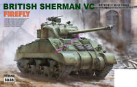 Ryefield RM5038 1/35 scale BRITISH SHERMAN VC W/WORKABLE TRACK LINKS TANK MODEL