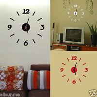 Moderno Numero Orologio Da Parete Soggiorno FAI-DA-TE 3D Decorazione Casa Watch