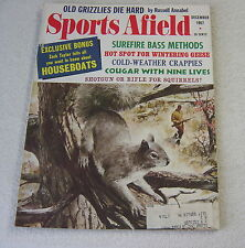 SPORTS AFIELD DECEMBER 1967 Berkey cover outdoor hunting fishing magazine