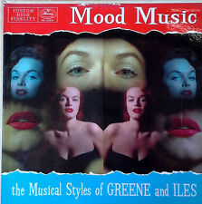 EDDIE GREENE & STEPHEN ILES - MUSICAL STYLES OF / MOOD MUSIC - MERCURY LP