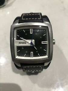 Fossil Watch Black Be