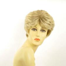 Perruque femme longue blond méché blond très clair VAL 15t613