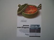 advertising Pubblicità 1969 CUCINA ZOPPAS