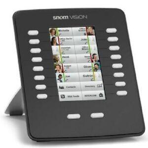 "snom Vision Black 800 Series 4.3"" Color Expansion Module 2291 for 820 870 NEW"