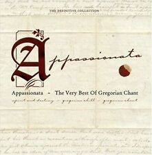 GREGORIAN CHOIR - THE APPASSIONATA: THE VERY BEST OF GREGORIAN CHANT NEW CD