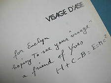 Henri Cartier-Bresson (Signed).Visage d'Asie.1972.Chene,Paris.Gravures.