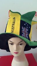 Aussie Australian High top hat with bells /Australia day/costume/party
