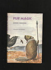 ANDRE NORTON.FUR MAGIC.S. FIRST EDITON. HARDCOVER IN JACKET